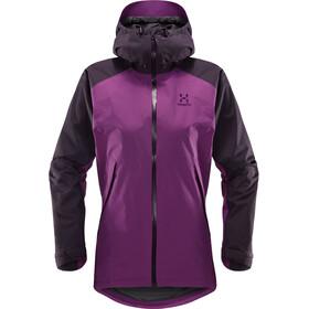 Haglöfs W's Esker Jacket Lilac/Acai Berry